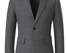 Marvelous Designer Clo3d - Male suit vest animated