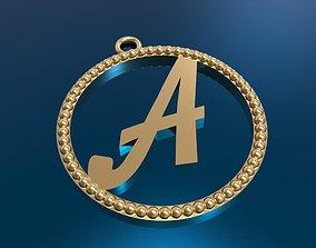 3D print model alfafit pendant