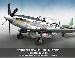 North American P-51D Mustang - Fighting Lady 3D