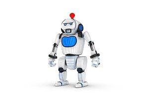 Funny Robot Character fun 3D