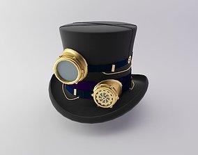 3D model Steampunk Hat