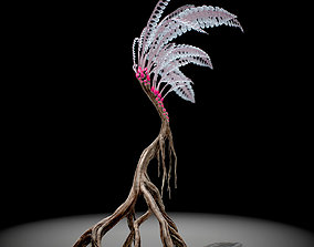 3D asset Alien Plant Fern Type 1