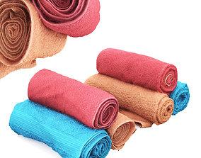 Real towels 3D