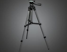 Tripod 01 - PBR Game Ready 3D model
