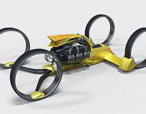 3D model Quad bike concept