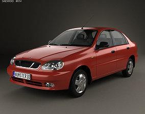 Daewoo Lanos T100 1998 3D