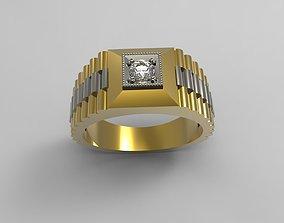 Men Ring Free 3D print model
