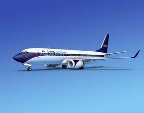 Boeing 737-800ER Delta Airlines 2 3D