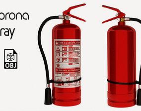 Fire Extinguisher industral 3D model