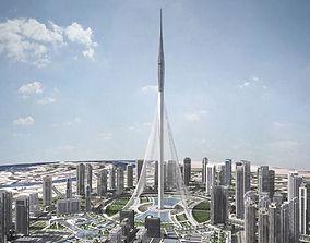 Dubai Creek Harbour 3D model