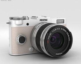 3D Pentax Q-S1 Pure White digital