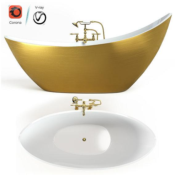 Bathtube with Shower 03