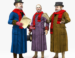 Victorian Man 1 - five in one 3D model
