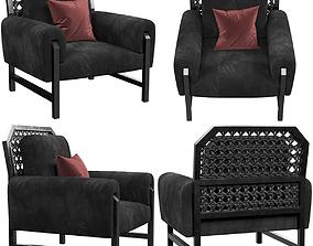3D model Baxter Madame armchair