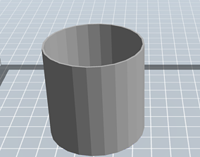 collection of cups for pencils and pens 3D printable model
