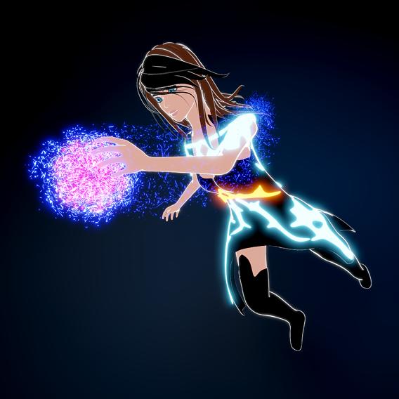 Sci-Fi Fantasy Girl