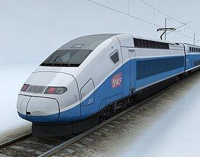 TGV Duplex 3D model realtime