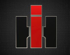 3D international harvester logo