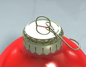 Christmas Tree Bulb Ornament 3D model