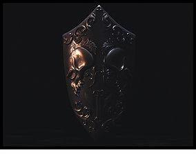 3D model Skeleton Shield