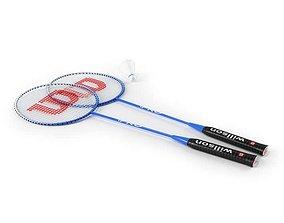 Wilson Sport Racquets 3D model