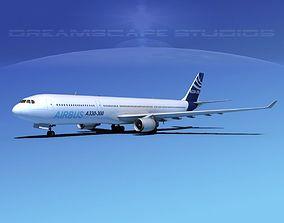 A330-300 Airbus 3D