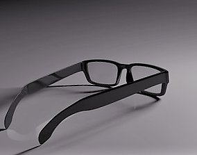 Glasses 3D model optic