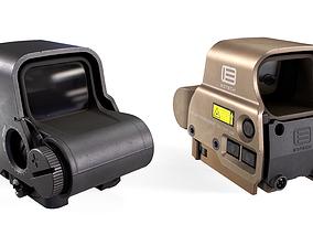 EOTech EXPS3 Holographic Sight 3D model