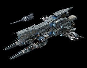 Almighty-Battleship 008 3D model