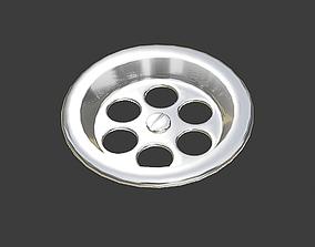 3D model LifeLike Siphon - tap water disposal - Sink - By