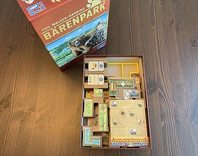 Barenpark Board Game Organizer 3D print model