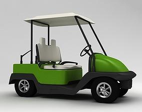 3D GOLF CAR