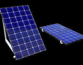 3D model Solar battery