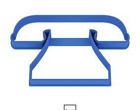 Phone cookie cutter for professional 3D print model