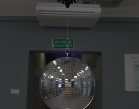 3D asset Mirror disco ball