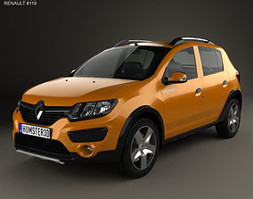 Renault Sandero Stepway BR-RU 2014 3D model