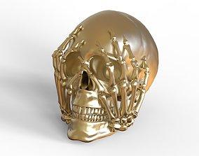 Scary Skull 3D printable model