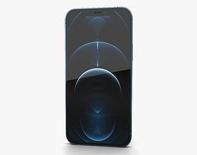 Apple iPhone 13 Pro Pacific Blue 3D