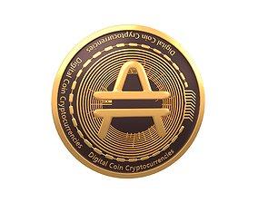 3D model Amp Coin v3 001