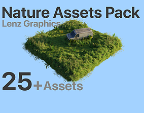 Realistic Nature Assets Pack realtime