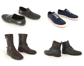 3D Shoes Collection 3