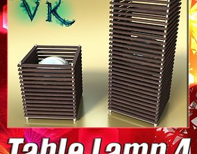 3D model Modern Table Lamp 04 Koshi