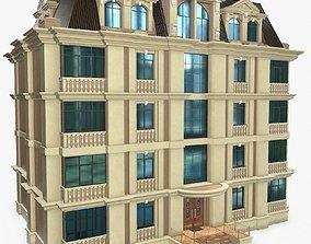 Lowrise Building 3D asset