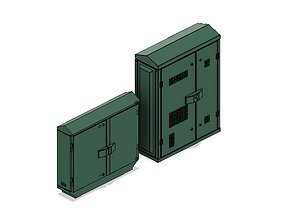 Model Railway BT Green Street Cabinets Telephone and