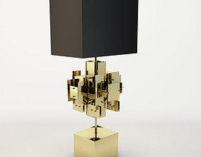 3D model Jonathan Adler - Puzzle Table Lamp