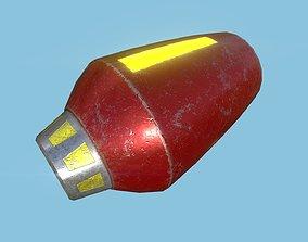 3D asset Protoman Mega Buster - Hand Cannon - SciFi Blast