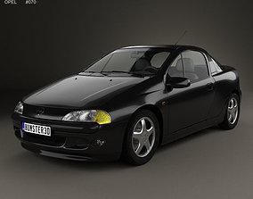 3D model Opel Tigra 1994