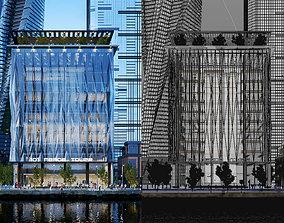 3D model 101 MEADE TOWER - Corona for Cinema4D Scene Files