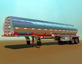Tanker Trailer 3D