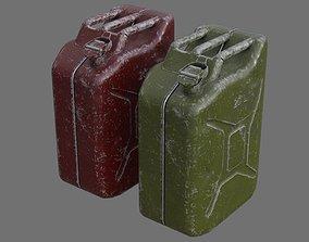Fuel Can 3B 3D asset